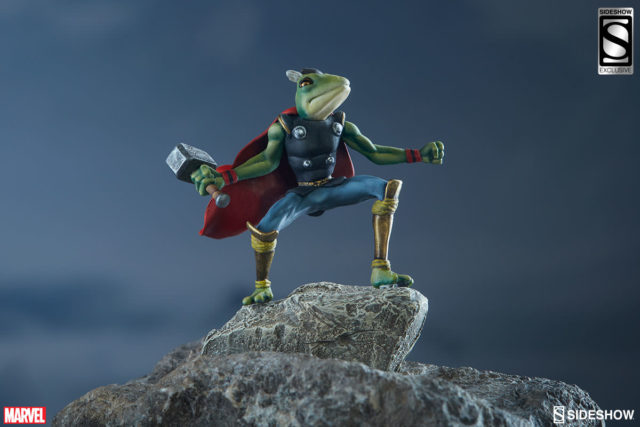Sideshow Exclusive Thor Frog Figure with Thor Sixth Scale Figure
