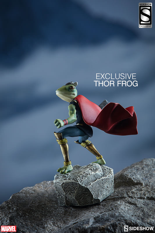 Sideshow Frog of Thunder Exclusive Thor Figure