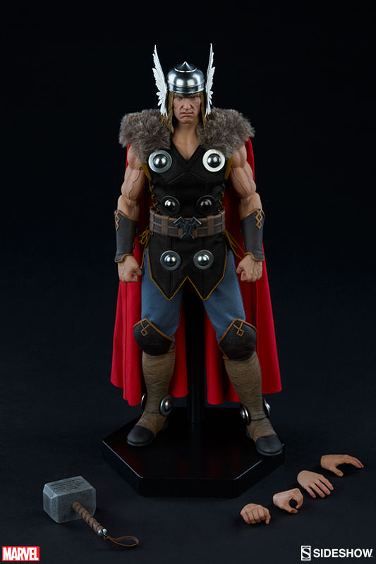 Sideshow Thor Sixth Scale Figure and Accessories