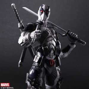 Special Color Ver Play Arts Deadpool X-Force Figure