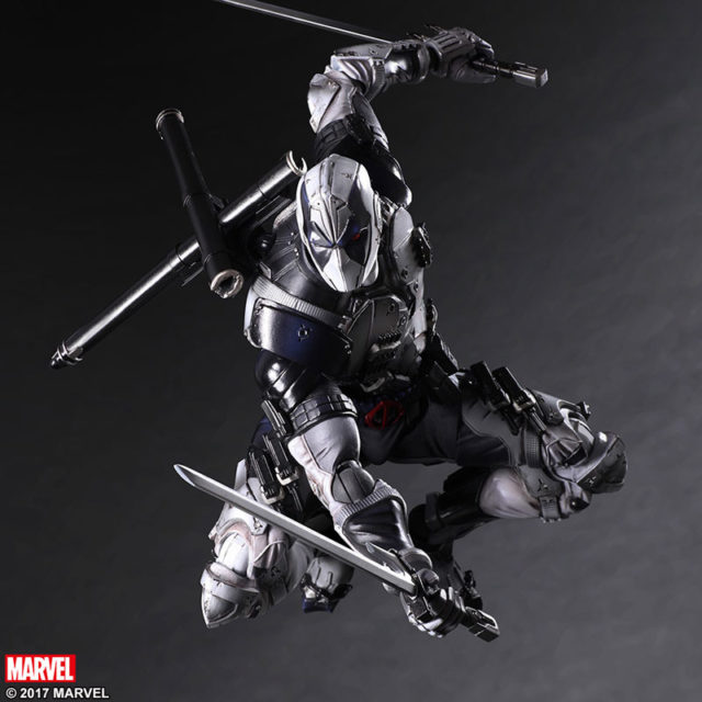 Square-Enix Deadpool X-Force Play Arts Kai Figure