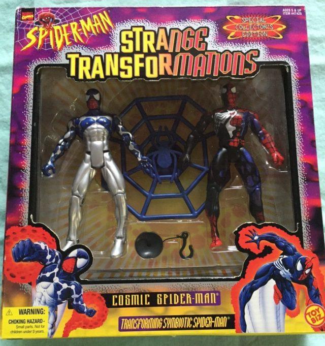 Toybiz Spider-Man Strange Transformations Figures Set