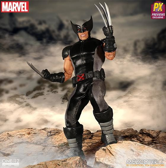 X-Force Wolverine ONE 12 Collective Mezco Figure
