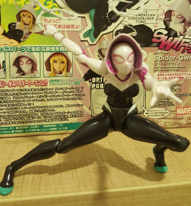 2017 Revoltech Marvel Spider-Gwen Figure Review