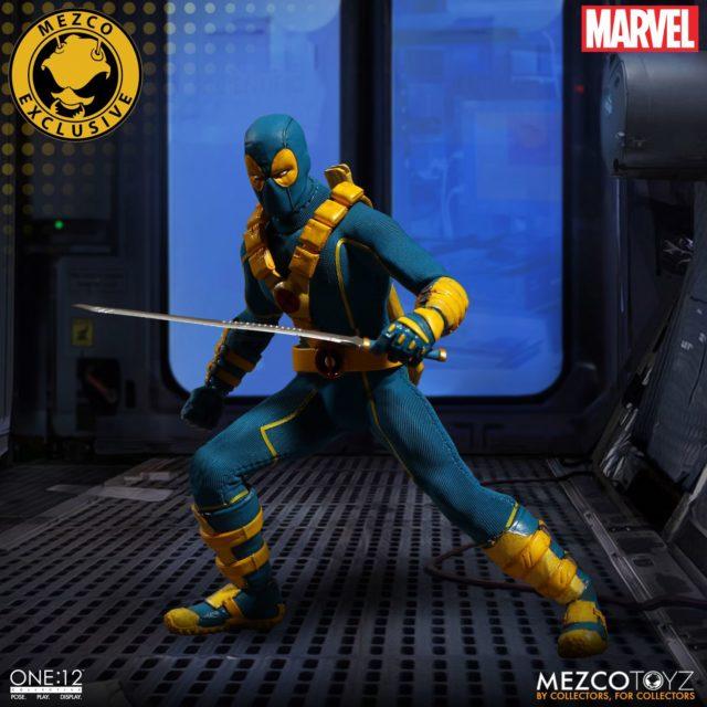 2017 SDCC Mezco X-Men Deadpool ONE12 Collective Figure Exclusive