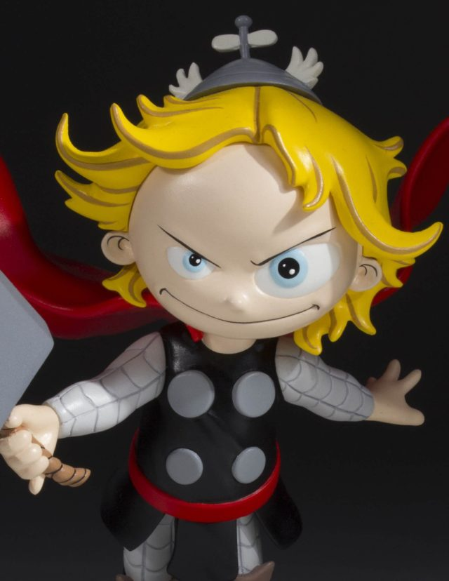 Close-Up of Gentle Giant Marvel Babies Thor Statue