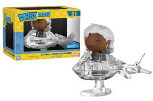 Funko Dorbz Stealth Blackbird Jet with Black Costume Storm Ridez Set