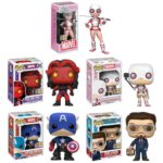 SDCC 2017 Funko Marvel POP Vinyls! Bucky Cap! Red She-Hulk!