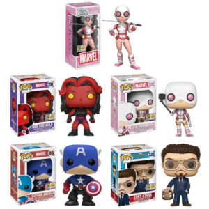 Funko Marvel SDCC 2017 Exclusives