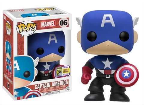 Funko SDCC 2017 Exclusive Bucky Captain America POP Vinyl Figure