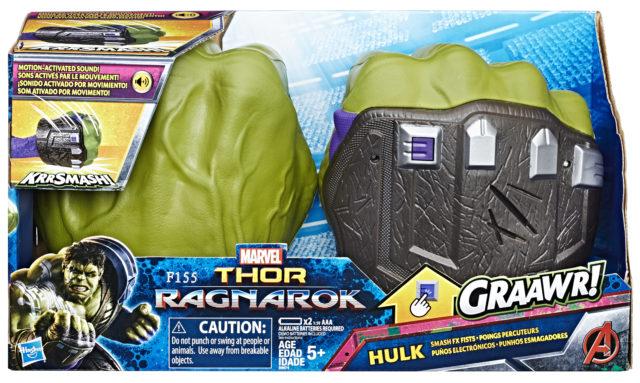 Hasbro Hulk Smash FX Fists Thor Ragnarok