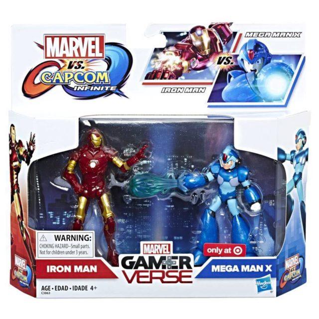 Hasbro Marvel vs Capcom Infinite Figures Mega Man X vs Iron Man Hi-Res