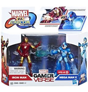 Hasbro Marvel vs Capcom Infinite Figures Mega Man X vs Iron Man Hi-Res