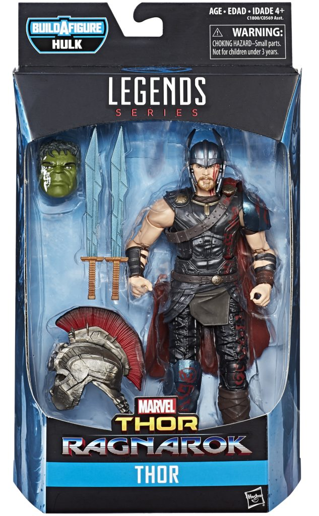 Hasbro Thor Ragnarok Marvel Legends Thor Packaged