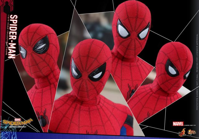 Homecoming Spider-Man Hot Toys Figure Interchangeable Eyes