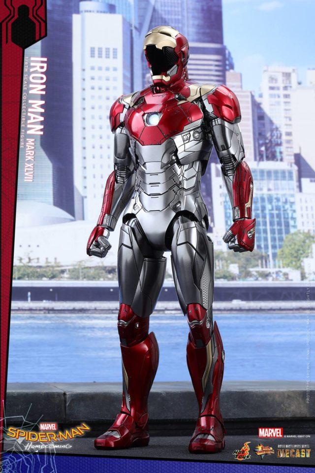 Hot Toys Mark 47 Iron Man MMS Die-Cast Armor Empty
