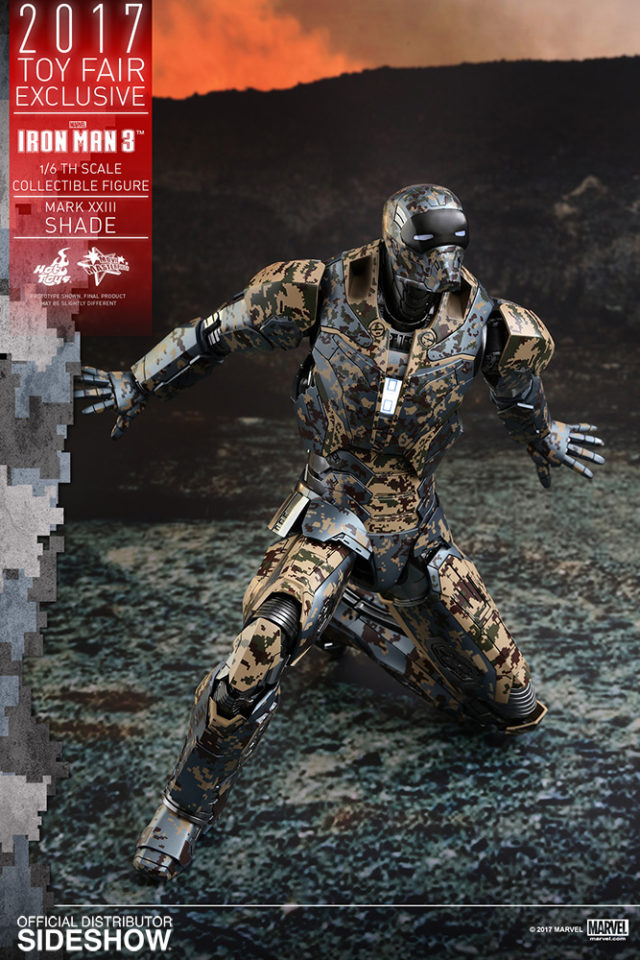 Hot Toys Shades Iron Man Figure Toy Fair Exclusive