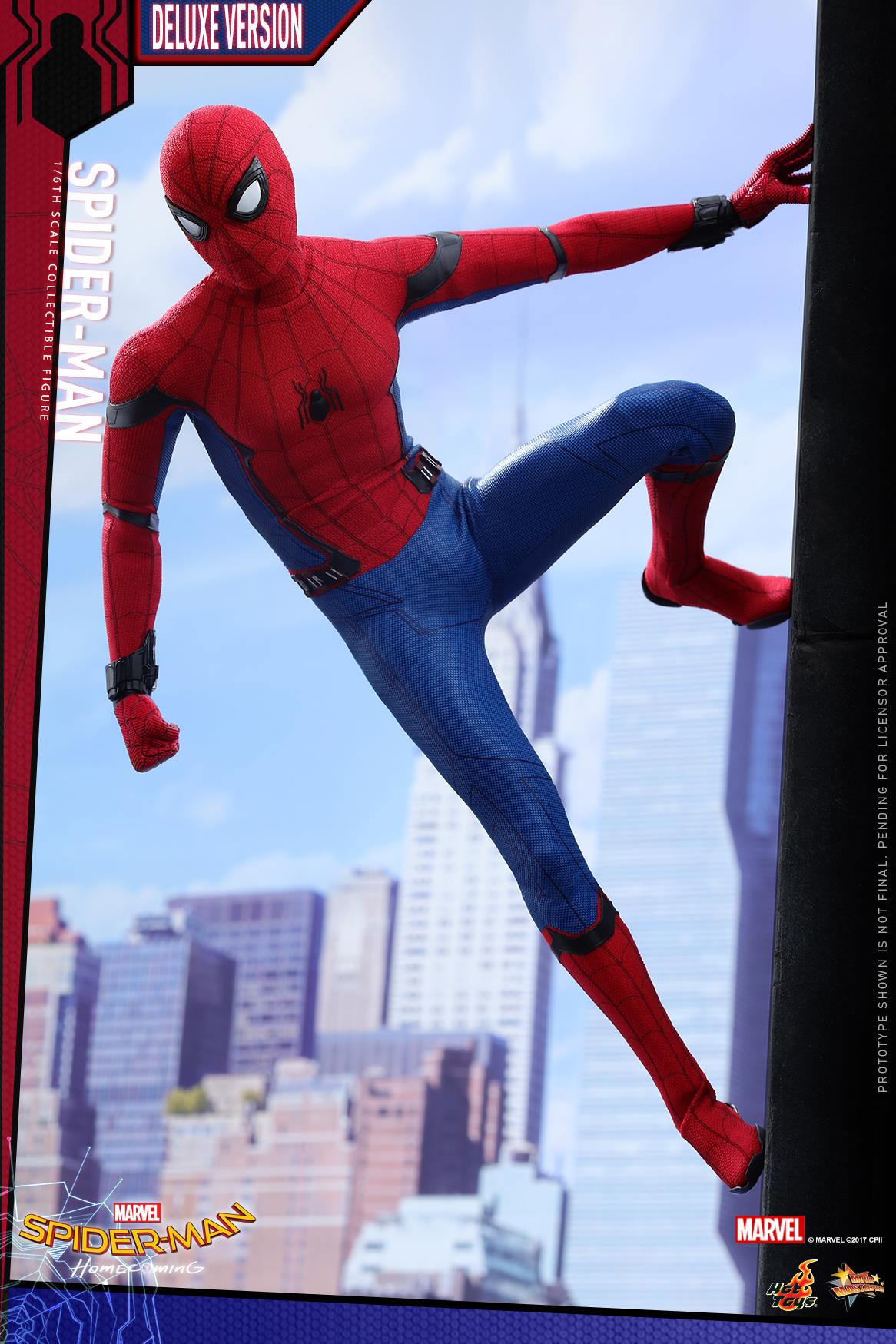 Hot Toys Homecoming Spider Man Deluxe 1 6 Figure Up For Order
