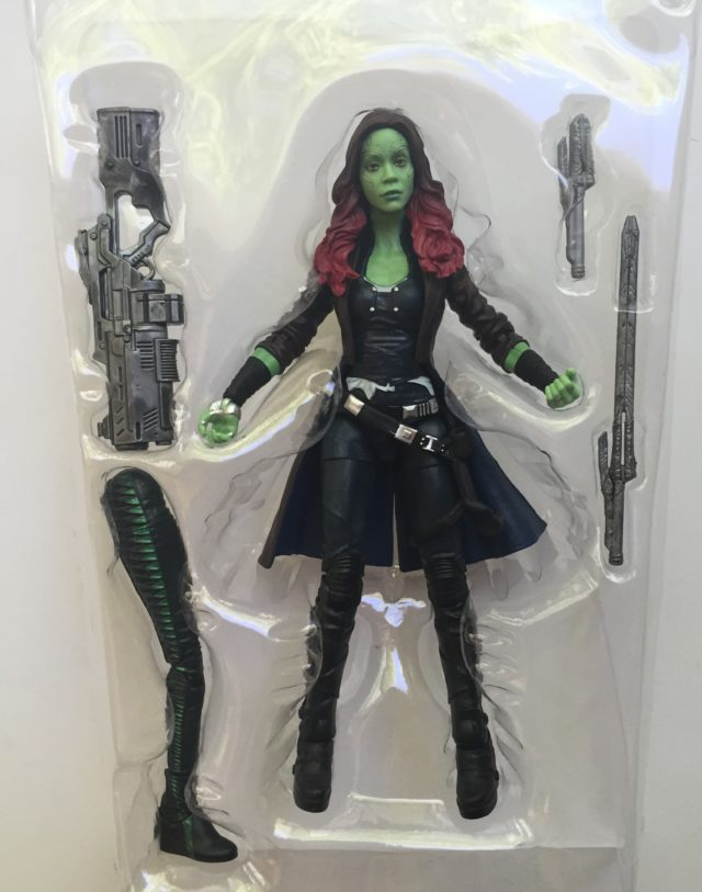 "Marvel Legends Gamora 6"" Figure and Accessories 2017"