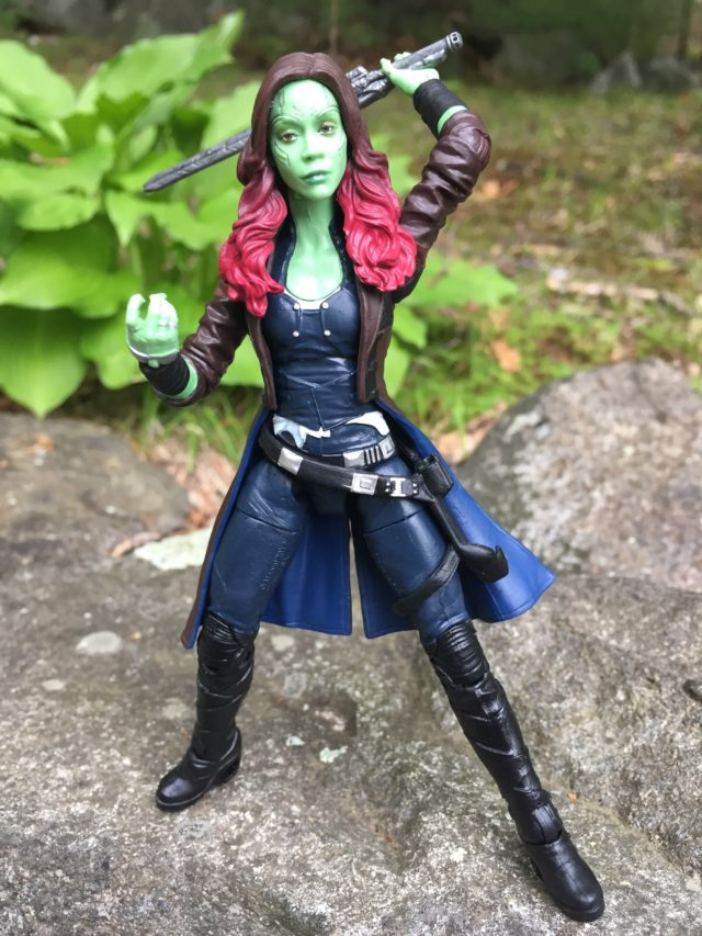 Gamora Marvel Legends Guardians of the Galaxy 2 Figure Drawing Sword