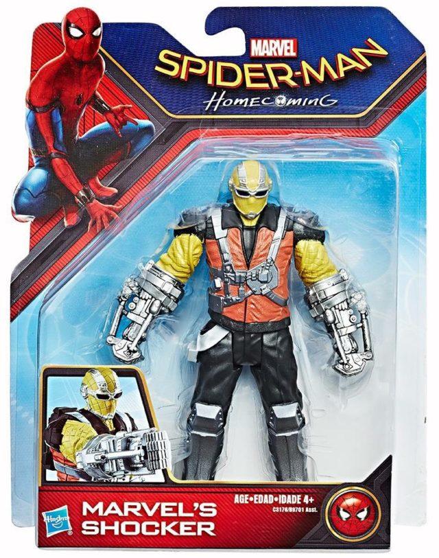 Spider-Man Homecoming Shocker Six Inch Figure Hasbro