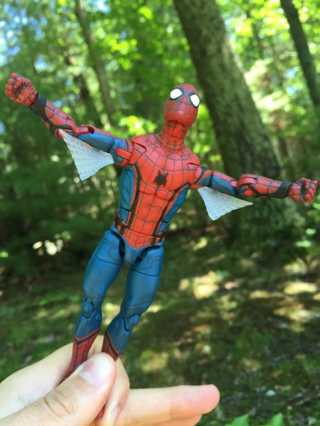 Hasbro Web Wings Spider-Man Figure Flying