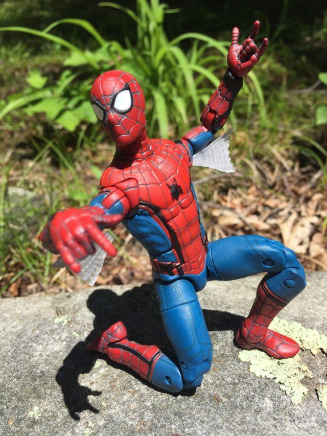 Marvel Legends 2017 Homecoming Spider-Man Figure Articulation