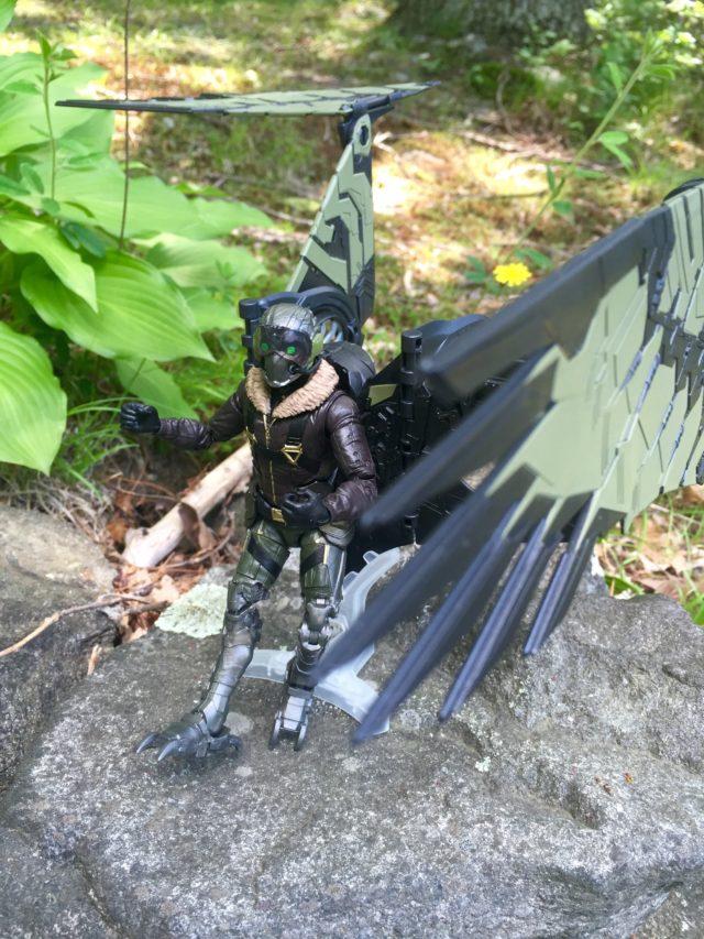 Articulation on Hasbro Marvel's Vulture Wings Flight Pack