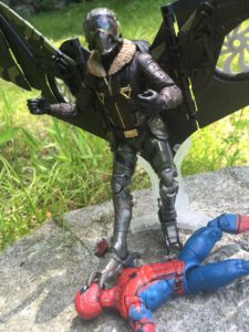 Marvel Legends Spider-Man Homecoming Vulture Build-A-Figure Review