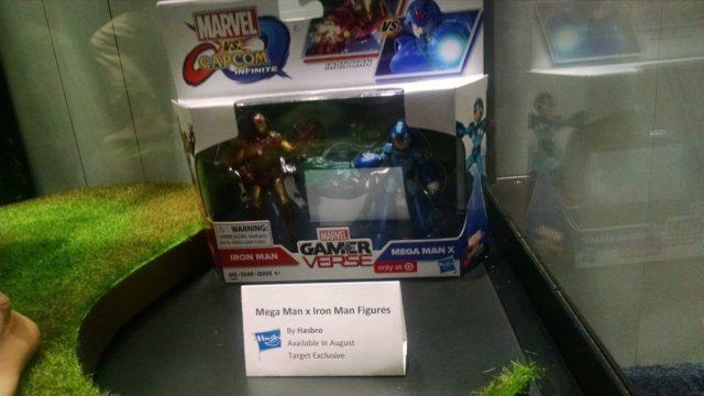 Marvel vs. Capcom Infiite Figures Iron Man vs. Mega Man X