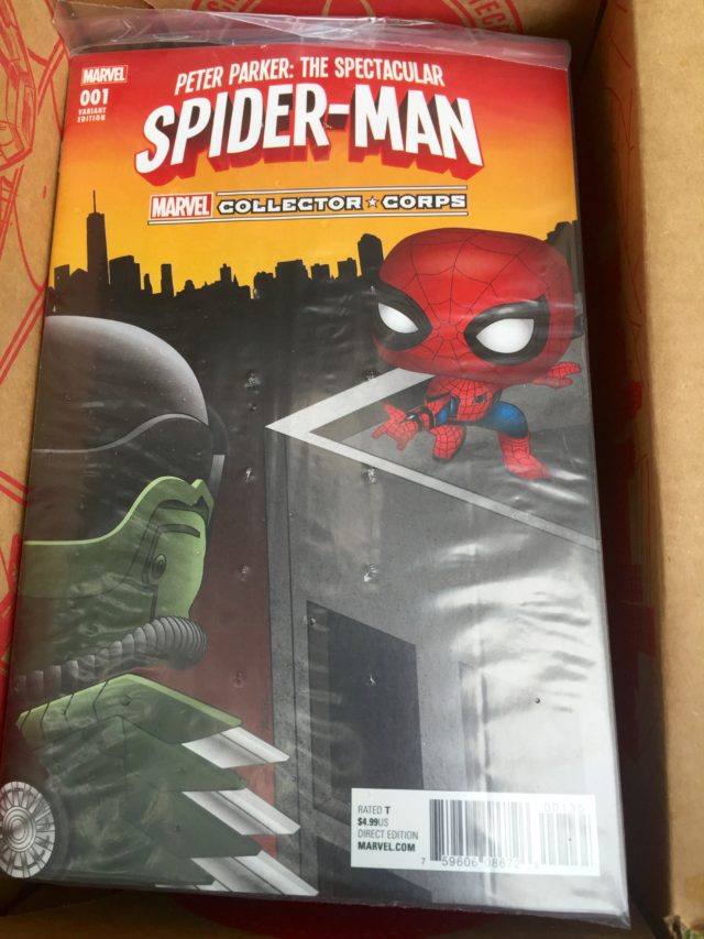 Funko Collector Corps Peter Parker Spider-Man #1 Cover