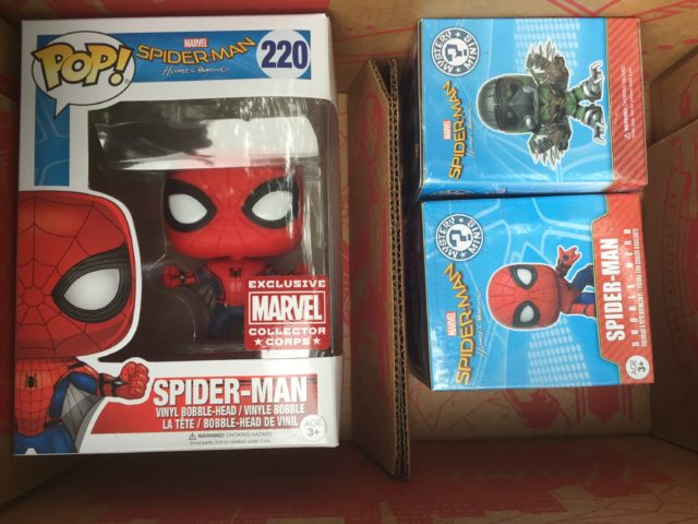 Spider-Man Homecoming Collector Corps Box Spoilers