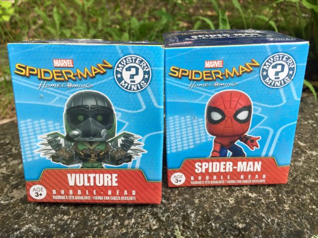 Spider-Man Homecoming Mystery Minis Blind Boxes