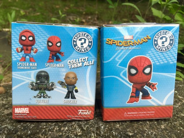 Mystery Minis Spider-Man Homecoming Boxes