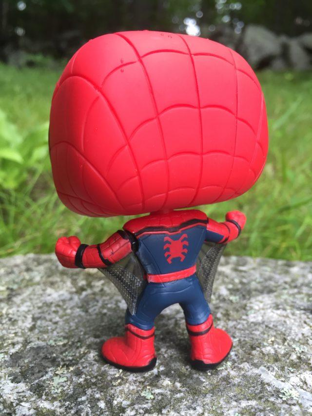 Back of Web Wings Spider-Man POP Figure
