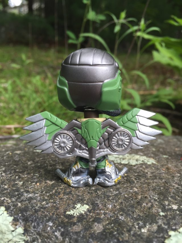 Back of Spider-Man Homecoming Vulture Mystery Minis Vinyl Figure
