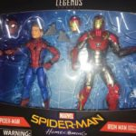 Marvel Legends Spider-Man Homecoming Iron Man 2-Pack Photos!