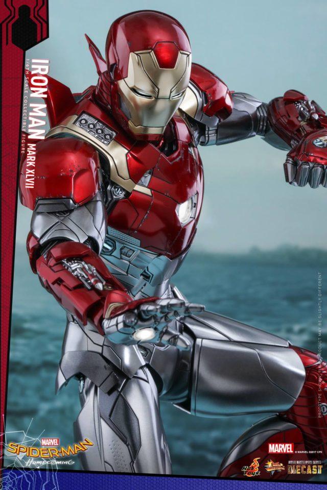 Iron Man Mark 47 Hot Toys Figure Die-Cast MMS