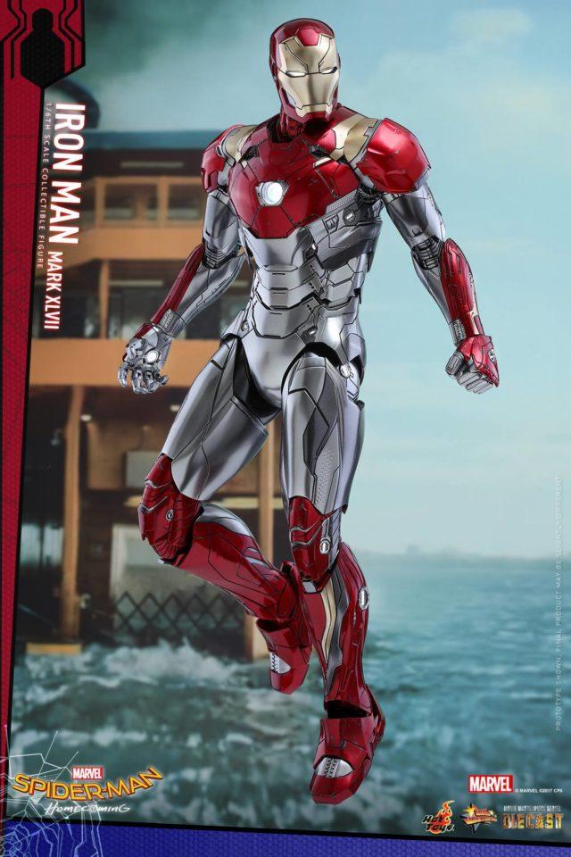 Iron Man Mark XLVII Hot Toys Die-Cast MMS Figure