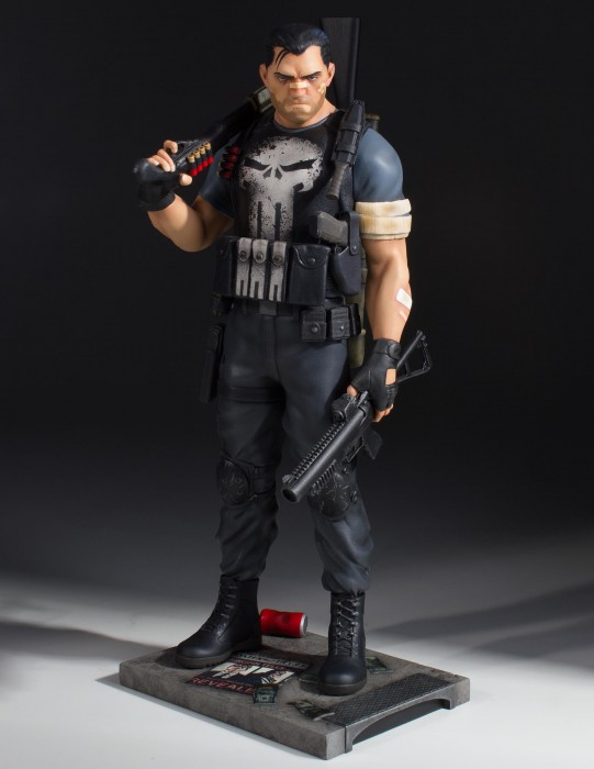 Marvel Collector's Gallery Punisher Statue