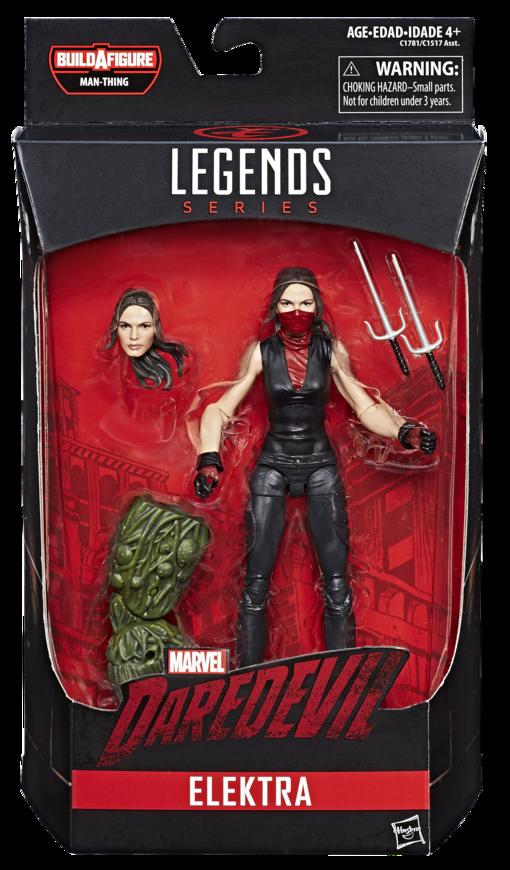 Marvel Knights Legends Elektra Figure Packaged