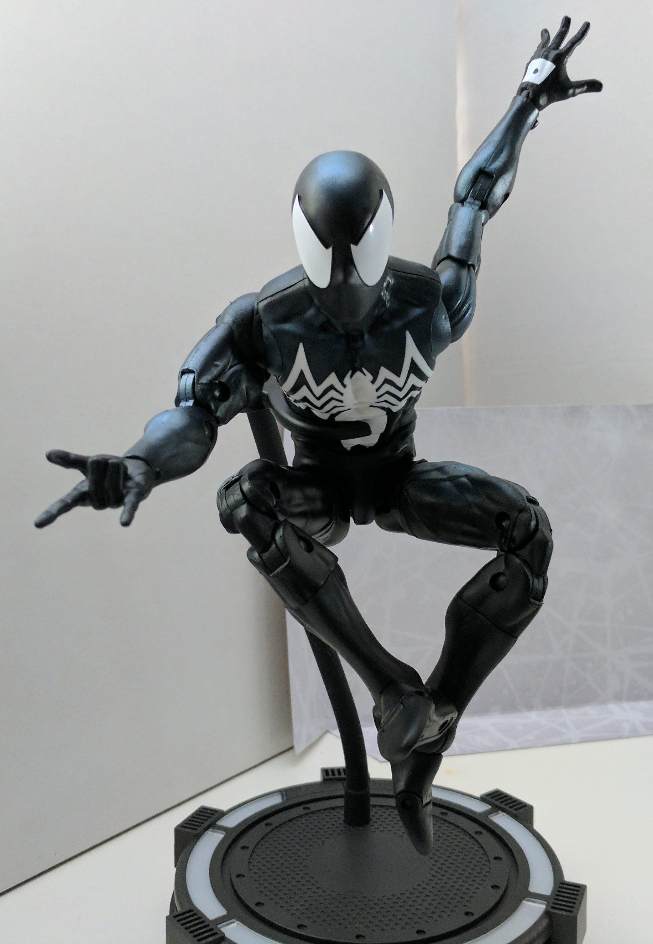 "Exclusive Marvel Legends 12"" Symbiote Spider-Man Released ..."