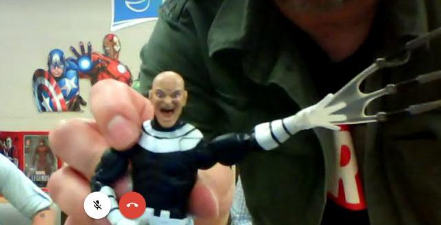 Marvel Legends Bullseye Figure Unmasked Screenshot
