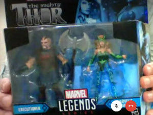 Marvel Legends Executioner and Enchantress Two-Pack Revealed