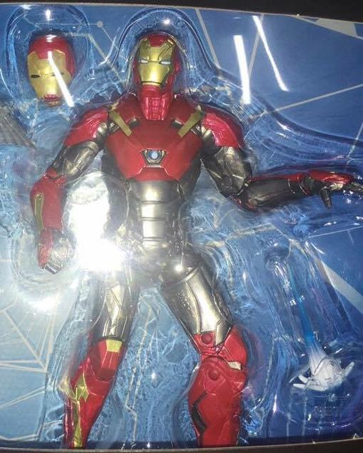 Marvel Legends Homecoming Iron Man Mark XLVII Figure