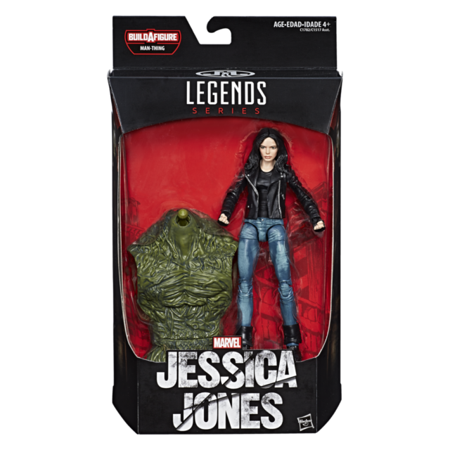 Marvel Legends Jessica Jones Figure Packaged