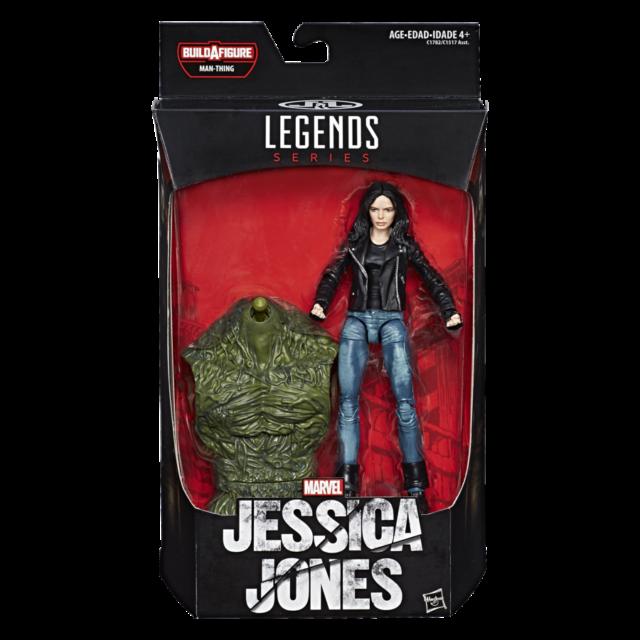 Marvel Legends Jessica Jones Figure Packaged