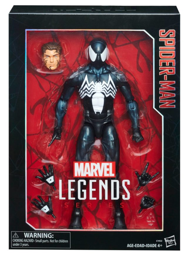 Marvel Legends Symbiote Spider-Man 12 Inch Figure Packaged
