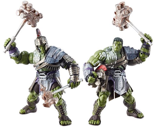 Marvel Legends Thor Ragnarok Gladiator Hulk Build-A-Figure