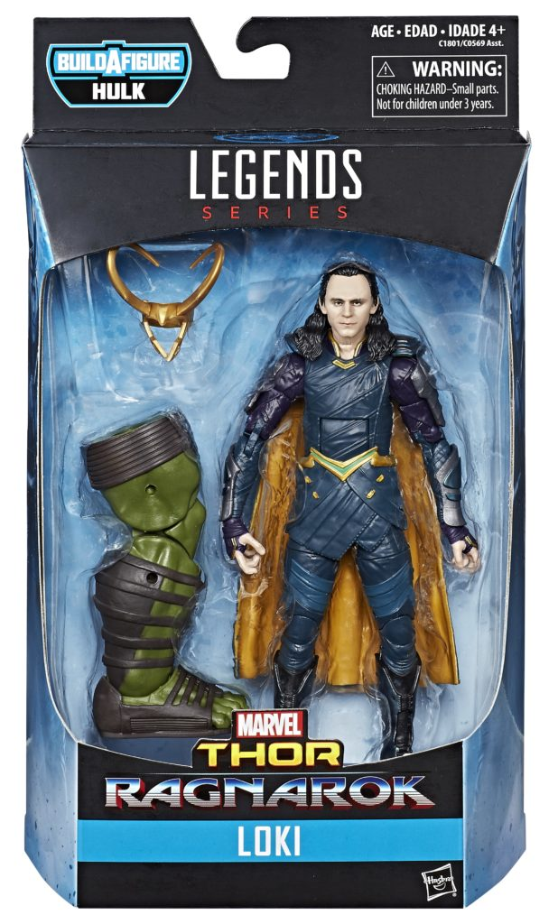 Marvel Legends Thor Ragnarok Loki Figure Packaged